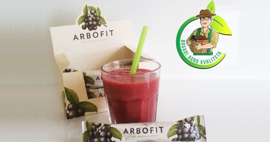 Arbofit- dietary supplement with aronia flavor